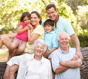 Đoàn tụ gia đình tại Mỹ (Ảnh minh họa)