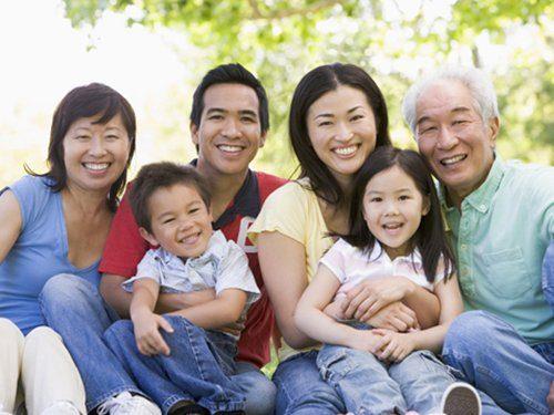 Được đoàn tụ gia đình là niềm hạnh phúc to lớn