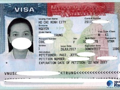 Visa của chi Trưng