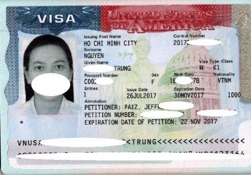 Visa Hồng Trưng